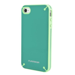 f2ddd791eb70a9 Puregear Fitted Hard Shell Case for iPhone 4S iPhone 4 - Pistachio Mint