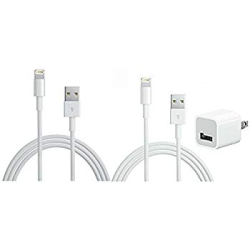 2148829b0cd Apple 5W USB Power Adapter Cube + 2x iPhone 6 lightning usb iPad charger  plug iPad
