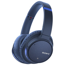 c6fac81e50a Sony WH-CH700N Over-Ear Noise Cancelling Bluetooth Headphones with Mic -  Blue