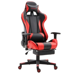 ?ViscoLogic?SpeedX Ergonomic Gaming Chair with Footrest (Red n Black)  sc 1 st  Best Buy Canada & Gaming Chairs: Computer u0026 Video Game Chairs | Best Buy Canada