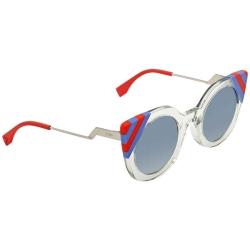 b13bcbece7 Fendi Blue Gradient Cat Eye Sunglasses FF 0240 S 1ED UY 47