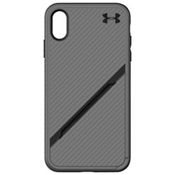 b2d56fb1a6c Under Armour Protect Kickstash Fitted Hard Shell Case for iPhone XS Max -  Graphite