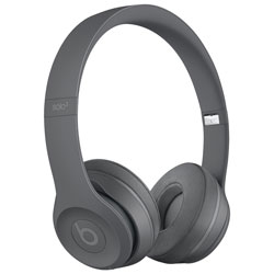 cb03948e3d1 Beats by Dr. Dre Solo 3 On-Ear Sound Isolating Bluetooth Headphones -  Asphalt