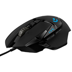 09855e0664e Logitech G502 Hero 16000 DPI Optical Gaming Mouse - Black