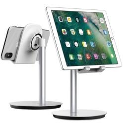 120538fa7109 GlobalTone Support De Table Ajustable Pour tablettes et telephones  intelligents jusqu a 10 po
