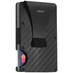b930da70b19 Carbon Fiber RFID Wallet RFID Blocking Money Clip -Slim Wallet for Man