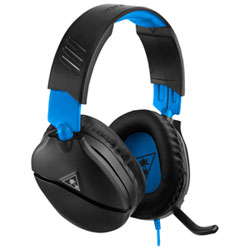44863a9c99a Turtle Beach Ear Force Recon 70 Gaming Headset with Microphone for  Playstation 4 - Black