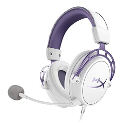 3d00000b346 HyperX Cloud Alpha Gaming Headset - White/Purple - Limited Edition for PC,  PS4