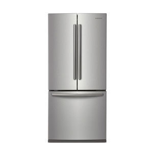 "Samsung 30"" 21.6 Cu. Ft. French Door Refrigerator with LED Lighting - Stainless Steel"