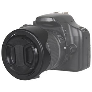 Ensemble pare-soleil tulipe et protège-objectif de 58 mm de la gamme Pro de Bower (HV58CAN)