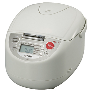 Tiger 9-Setting Rice Cooker - 10-Cup