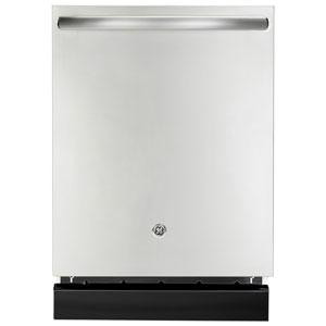 Lave-vaisselle encastrable grande capacité 24 po de GE cuve en acier inoxydable (GDT696SSFSS) - Inox