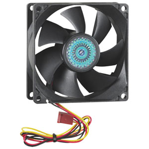 Insignia 80mm PC Case Cooling Fan - Black