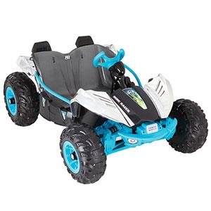 Chrome Dune Racer de Power Wheels (CDD16) - Bleu-Argenté-Gris