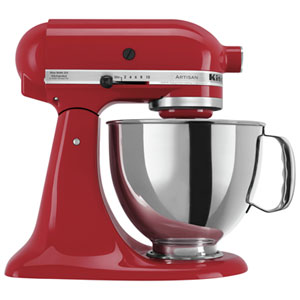 KitchenAid Artisan Stand Mixer - 4.73L - 325-Watt - Empire Red