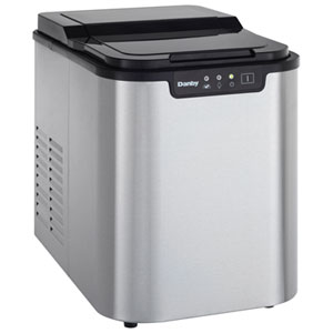 Danby Portable Ice Maker (DIM2500SSDB) - Stainless Steel