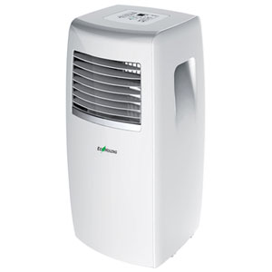 Climatiseur portatif duecohouzng btu blanc with - Climatiseur mobile sans evacuation darty ...