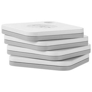 Dispositif de repérage Bluetooth Tile Mate - Paquet de 4 - Blanc