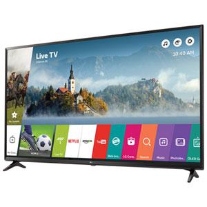 """LG 55"""" 4K UHD HDR LED webOS 3.5 Smart TV (55UJ6300) - Black"""