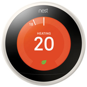 Thermostat intelligent Wi-Fi 3e génération Nest Learning - Blanc - Seulement chez Best Buy