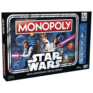 Monopoly: Star Wars 40th Anniversary Edition - English