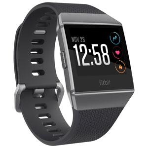 Montre Ionic de Fitbit - Anthracite-gris graphite