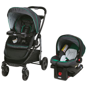 Graco Modes Standard Stroller with SnugRide Click Connect 35 Infant Car Seat - Albie