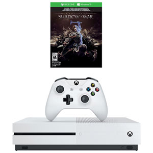 Xbox One S 500GB Middle-earth: Shadow of War Bundle