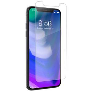 Protecteur d'écran en verre HD Glass+ InvisibleShield par ZAGG pour iPhone X