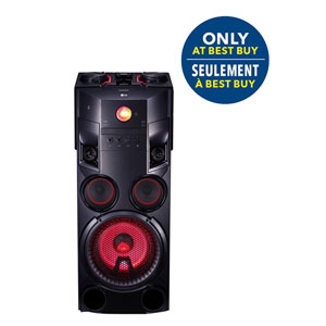 LG 1000W H-iFi Party Speaker with Karaoke - Only at Best Buy