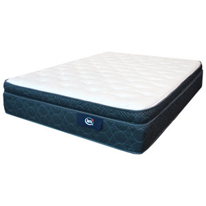 "Serta Blue Springs 11.75"" Pillow Top Plush Mattress - Queen"