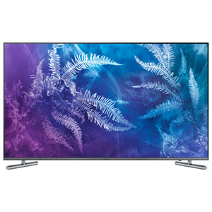 Télé. intelligent Tizen HDR QDEL UHD 4K 49 po Samsung (QN49Q6FAMFXZA) - Tit. foncé - Excl. Best Buy