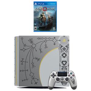 Ensemble avec console PlayStation 4 Pro de 1 To et God of War édition limitée
