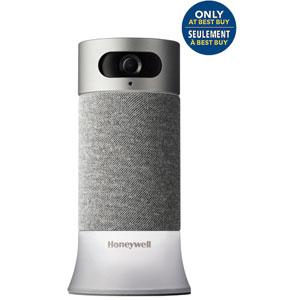 Caméra de surveillance HD 1080p tout-en-un de Honeywell avec commande vocale - Exclusivité BBY