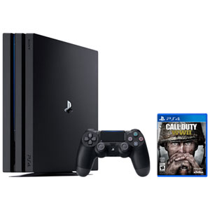 PlayStation 4 Pro 1TB Call of Duty: WWII Bundle