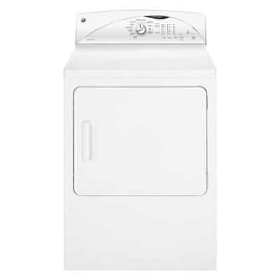GE 7 Cu. Ft. Electric Dryer (GTMP520EDWW) - White