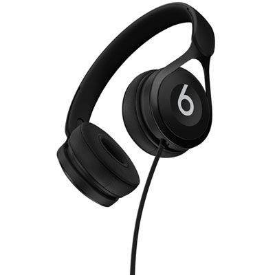 Beats by Dr. Dre EP On- Ear Sound Isolating Headphones with Mic - Black
