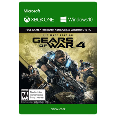 Gears of War 4 Ultimate Edition Xbox One - Digital Download