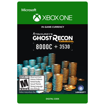 Tom Clancys Ghost Recond Wildlands Currency Pack - 11530 Ghost Recon Credits Xbox One - Digital Download