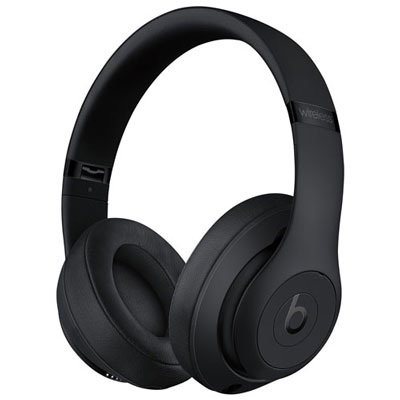 Beats by Dr. Dre Studio3 Over-Ear Noise Cancelling Bluetooth Headphones - Black