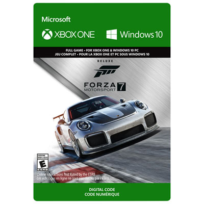 Forza Motorsport 7: Deluxe Edition Xbox One - Digital Download