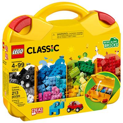 LEGO Classic: Creative Suitcase - 213 Pieces (10713)