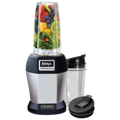 Ninja Nutri Pro 0.5L 900-Watt Stand Blender - Black/Silver