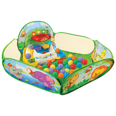 VTech Pop-a-Balls Drop & Pop Ball Pit - English