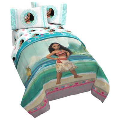 Moana Comforter Set Twin Double, Moana Queen Size Bed Sheets