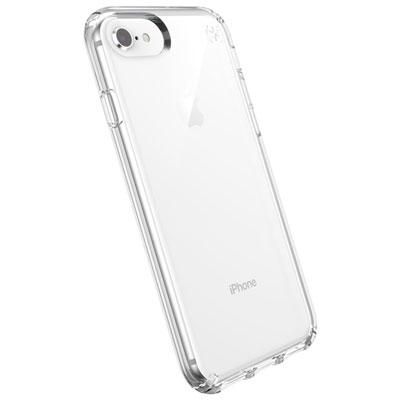 Étui rigide ajusté Presidio de Speck pour iPhone SE (2e gén.)/8/7 - Transparent