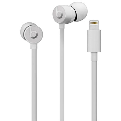 Beats by Dr. Dre urBeats3 In-Ear Sound Isolating Headphones with Lightning Connector - Satin Silver