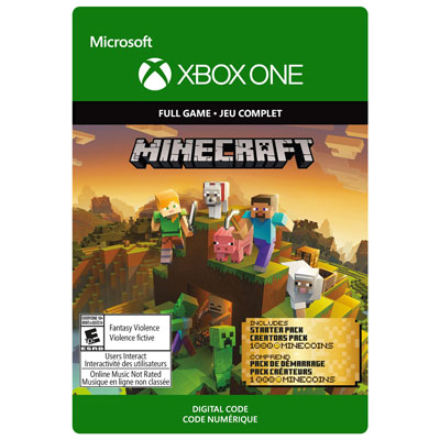 Minecraft Master Collection Xbox One - Digital Download