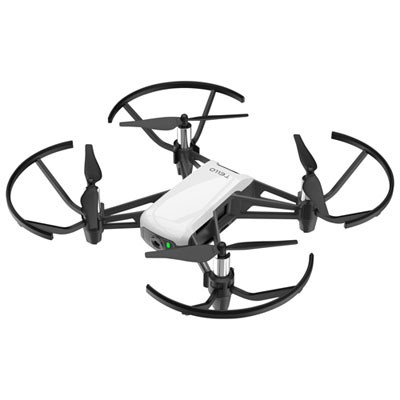 DJI Tello Boost Combo Quadcopter Drone with Camera - Ready-to-Fly - White