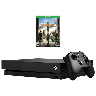 Xbox One X 1TB Tom Clancys The Division 2 Bundle